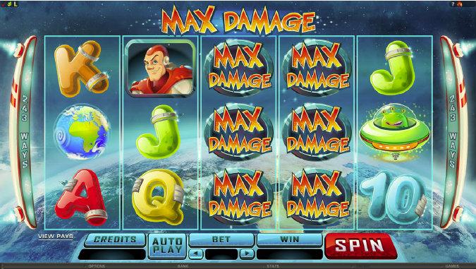 Max Damage Spillemaskine