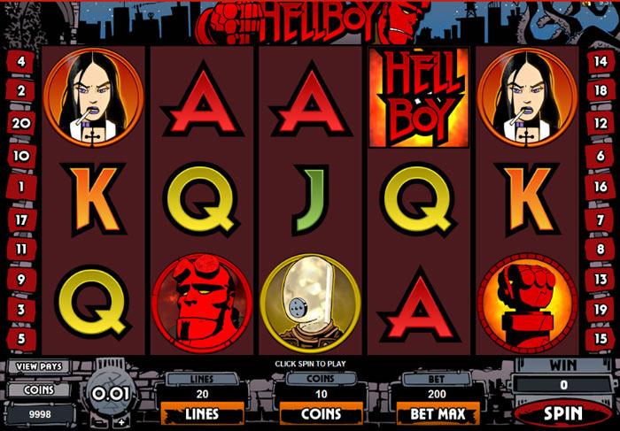 Hellboy Spillemaskine