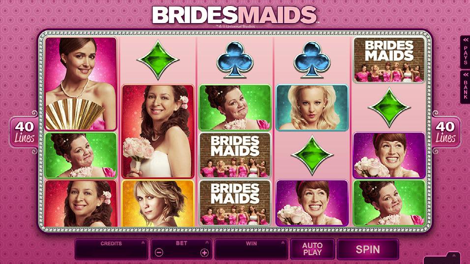 Bridemaids Spillemaskine